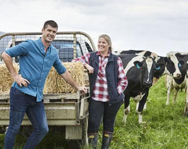 Jonathan Brown on farm