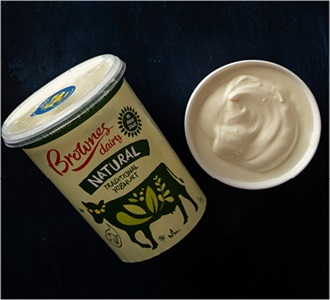 AGDA Peoples Choice Awards Brownes Dairy natural traditional yoghurt