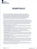 Dairy Australia Board Skills report cover