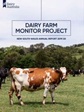 Dairy Farm Monitor Project NSW Annual Report 2019_20 cover