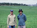 New South Wales dairy farmers Will and Kym